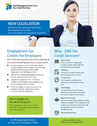 Work Opportunity Tax Credit Brochure